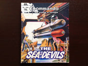 Commando Comic #1664 - The Sea-Devils Fiction