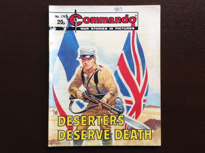 Commando Comic #1767 - Deserters Deserve Death Fiction