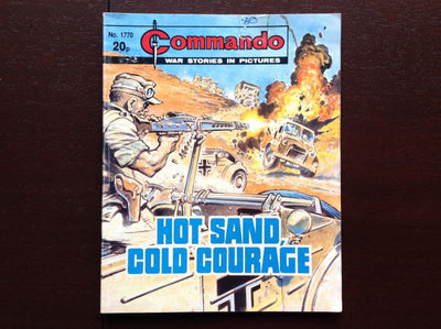 Commando Comic #1770 - Hot Sand Cold Courage Fiction