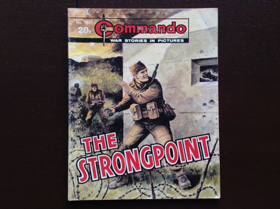 Commando Comic #1807 - The Strongpoint Fiction