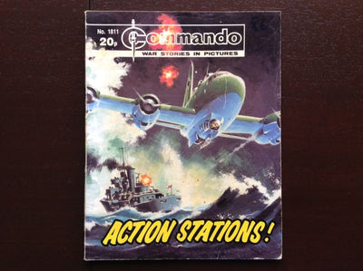 Commando Comic #1811 - Action Stations! Fiction