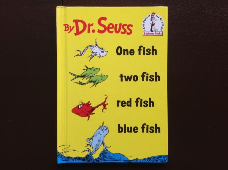 Dr. Seuss - One Fish Two Fish Red Fish Blue Fish Fiction