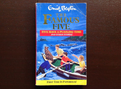 Enid Blyton - Famous Five: Five Have A Puzzling Time Fiction