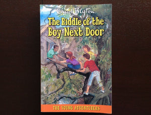 Enid Blyton - The Riddle Of The Boy Next Door Fiction
