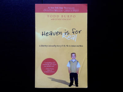 Heaven Is For Real - Todd Burpo Non-Fiction