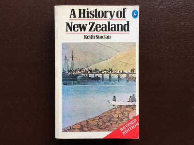 Keith Sinclair - A History Of New Zealand Non-Fiction