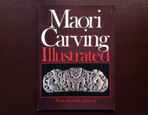 Maori Carving Illustrated - W. J. Phillipps Non-Fiction