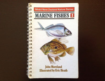 Mobile New Zealand Nature Series: Marine Fishes 1 - John Moreland Non-Fiction
