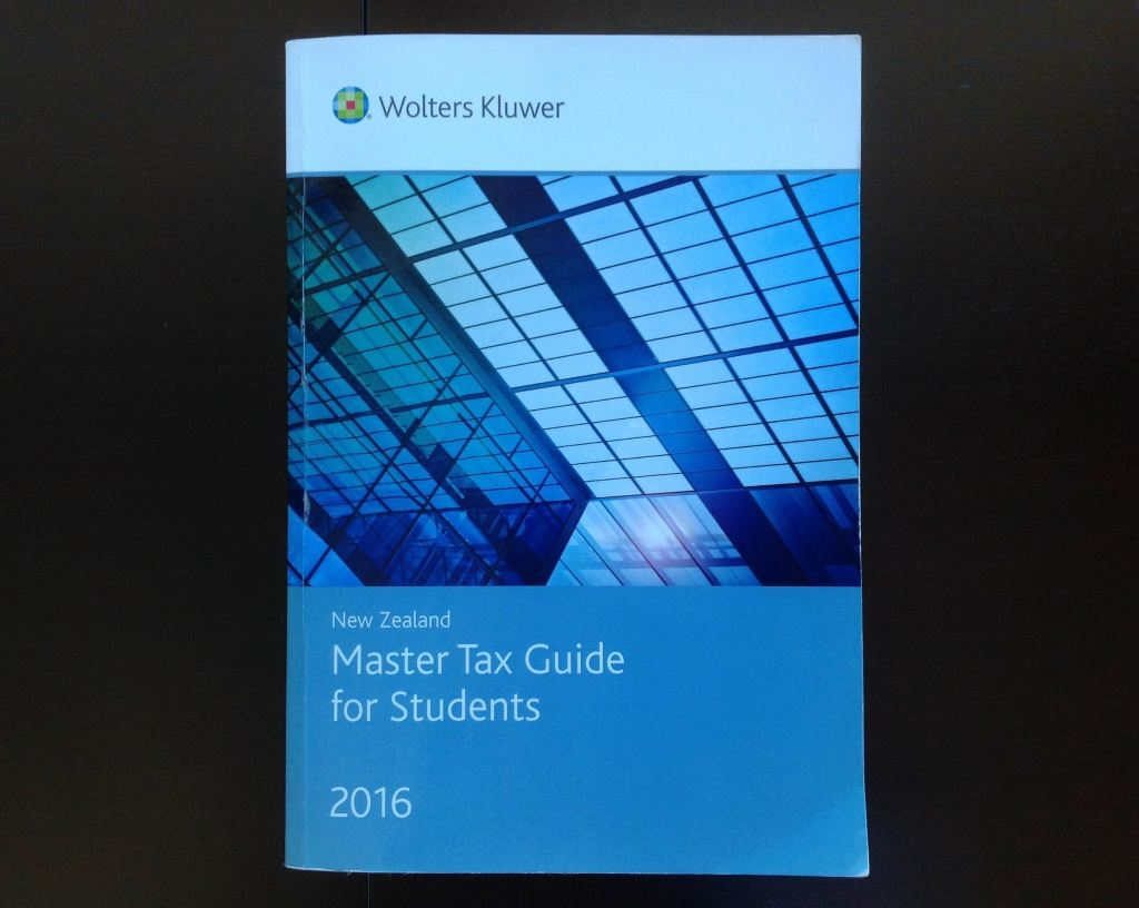 Nz Master Tax Guide For Students 2016 Non-Fiction