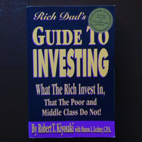 Rich Dads Guide To Investing - Robert T. Kiyosaki Non-Fiction