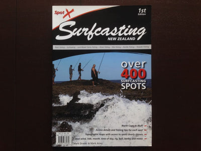 Spot X Surfcasting New Zealand - Mark Draper & Mark Airey Non-Fiction