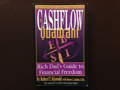 The Cashflow Quadrant: Rich Dads Guide To Financial Freedom - Robert T. Kiyosaki Non-Fiction