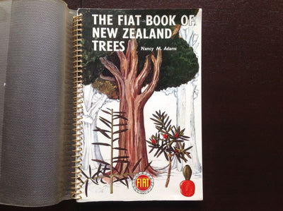 The Fiat Book Of New Zealand Trees - Nancy M Adams Non-Fiction