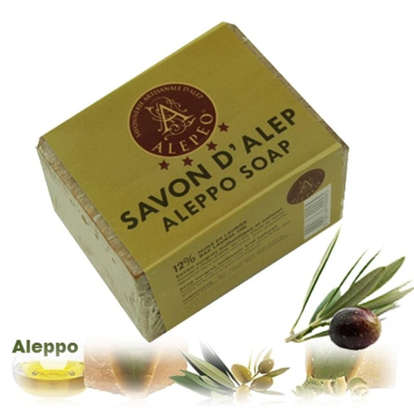 Soap Aleppo 12% laurel oil - By Surya Shop