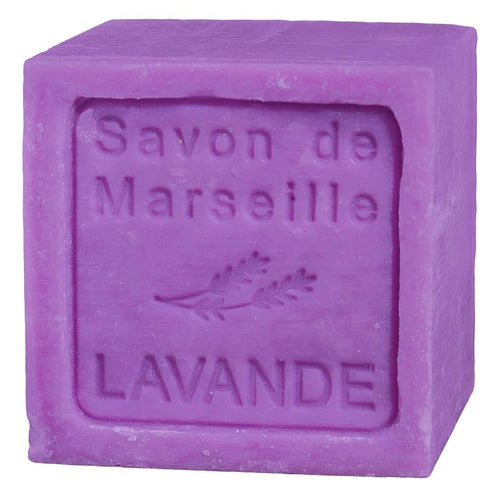 Natural Marseille soap Lavender - By Surya Shop