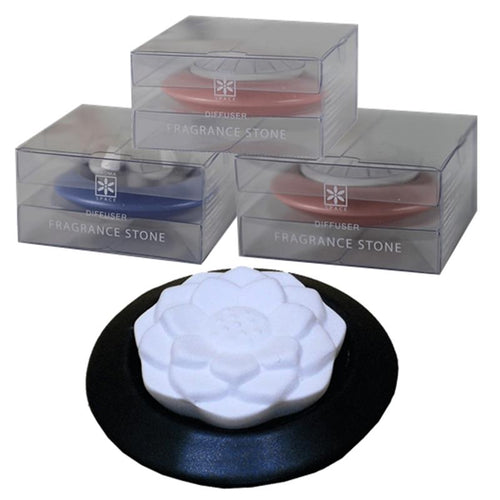Stone diffusers Lotus aroma stone black - By Surya Shop