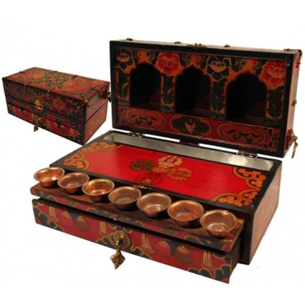 Travelling Altar in Box luxury