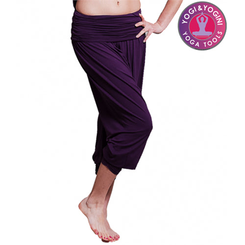 Yoga pants comfort flow purple S-M