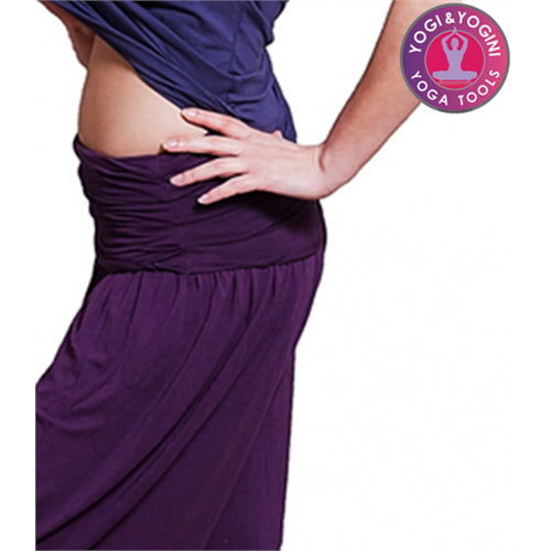 Yoga pants comfort flow purple M-L