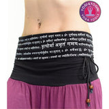 Yoga pants 'Breath easy mantra' 1 size unisex
