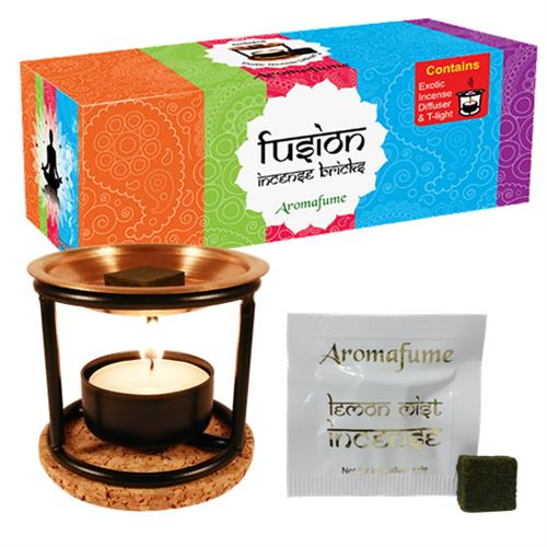 Aromafume incense bricks sample set + Diffuser - By Surya Shop