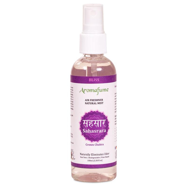 Aromafume natural air freshener spray Sahasrara chakra - By Surya Shop