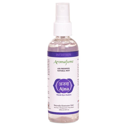 Aromafume natural air freshener spray Ajna chakra - By Surya Shop