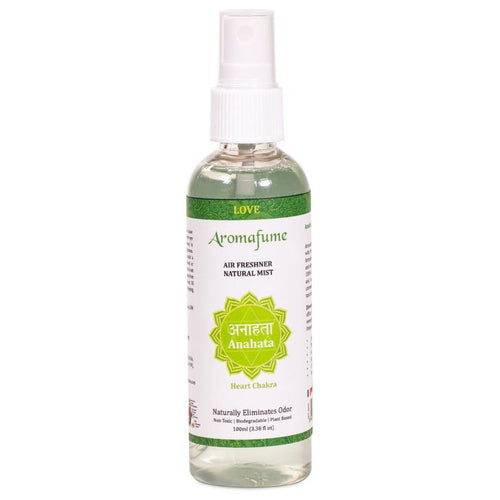 Aromafume natural air freshener spray Anahata chakra - By Surya Shop