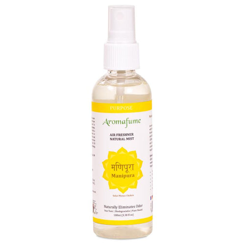 Aromafume natural air freshener spray Manipura chakra - By Surya Shop