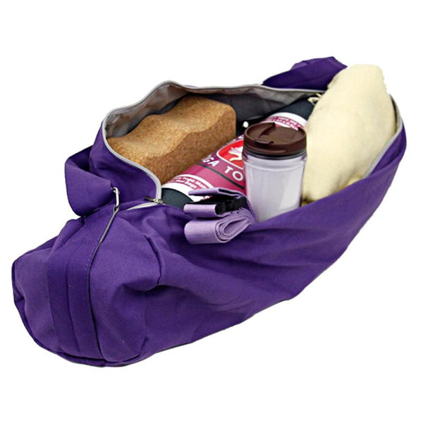 Yoga mat bag purple
