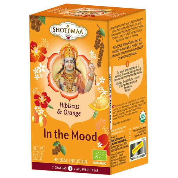 Shoti Maa organic hibiscus, ginger & orange tea - By Surya Shop