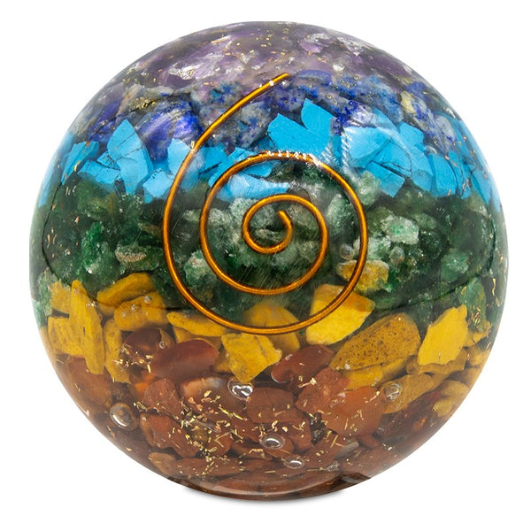 Orgonite chakra ball - By Surya Shop