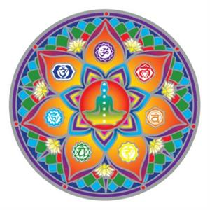 Sunseal decal 7 Chakras - By Surya Shop