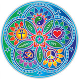 Sunseal decal Living Energies Mandala - By Surya Shop