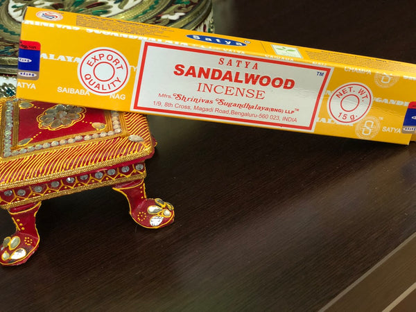 Incense Sandalwood - By Surya Shop