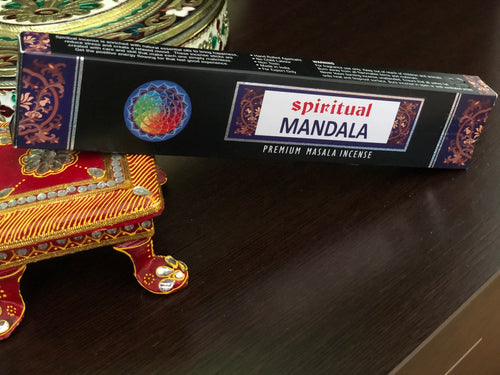 Incense Spiritual Mandala - By Surya Shop