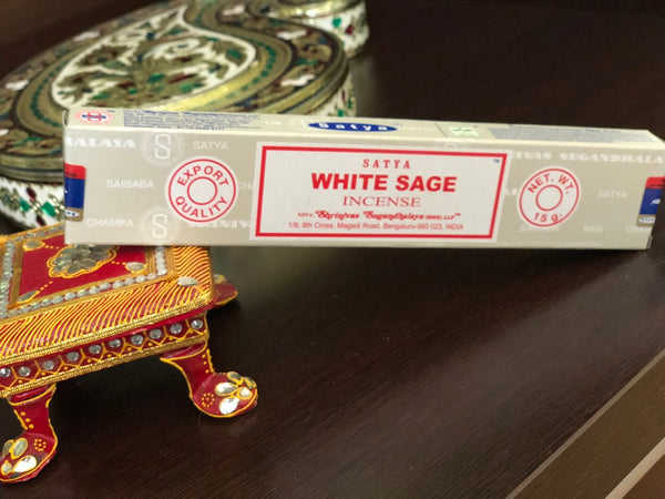Incense White Sage - By Surya Shop