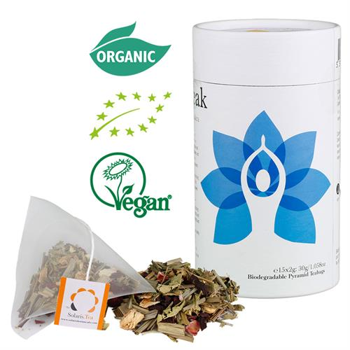Solaris Organic Tea Throat Chakra - By Surya Shop