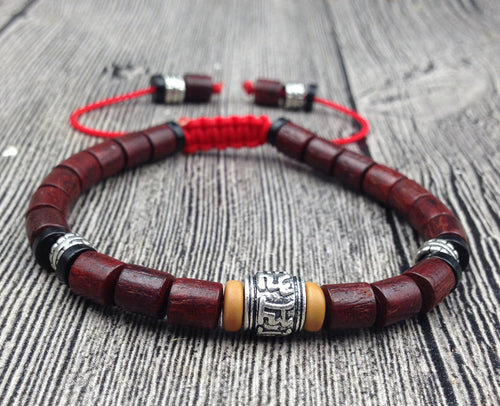 Natural Wood Mala Beads Tibet Buddhist - By Surya Shop
