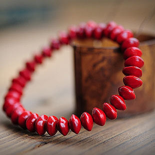 Tibet Jewelry Natural Blood Bodhi Prayer beads Buddha - By Surya Shop