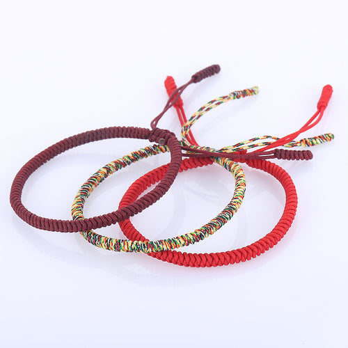 Handmade Knots Lucky Rope Bracelet - By Surya Shop