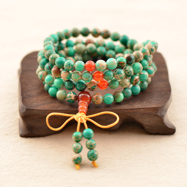 Beads Wristband Tibet Buddha Bracelet - By Surya Shop