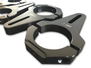 49-51mm Diameter Billet Aluminium Clamp Brackets