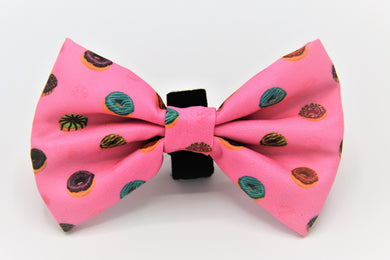 Geniusgogo Removable Soft Unisex Dog/Pet Bow Tie - Donuts