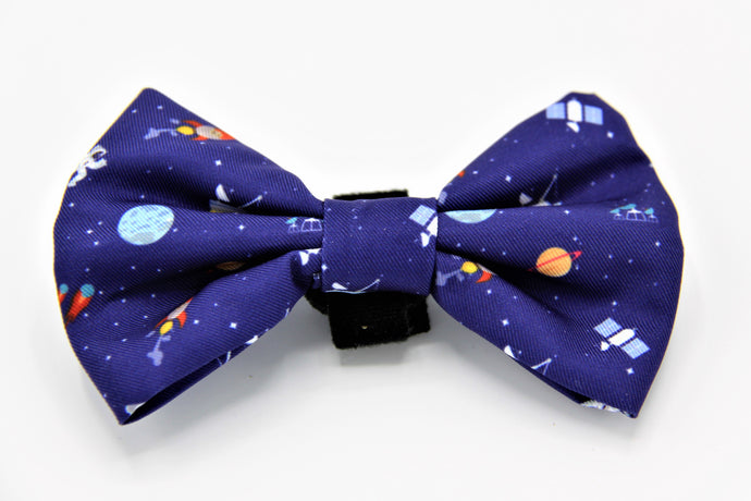 Geniusgogo Removable Soft Unisex Dog/Pet Bow Tie - Galaxy