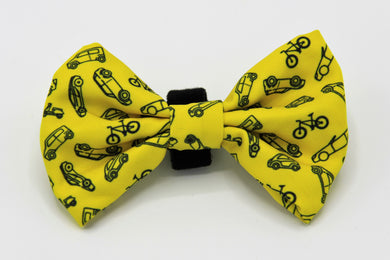 Geniusgogo Removable Soft Unisex Dog/Pet Bow Tie - Vehicles