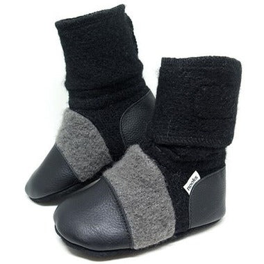 Nooks Wool Booties - Eclipse