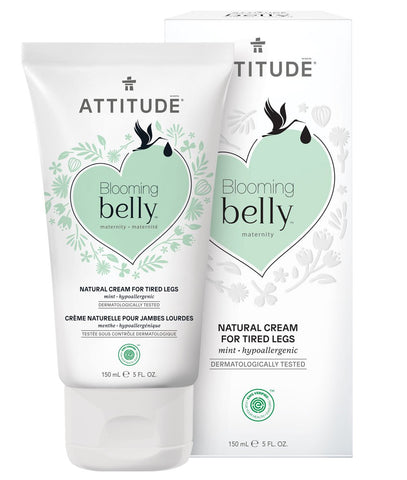 Attitude Blooming Belly - Natural Cream for Tired Legs