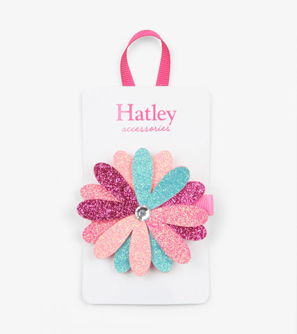 Hatley - Shimmer Flower Large Hair Clip