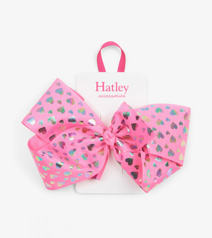 Hatley - Hologram Hearts Bow Hair Clip